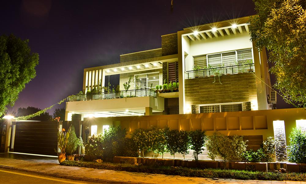 Mazher Munir Design Full Basement Home Theater Bungalow For Sale